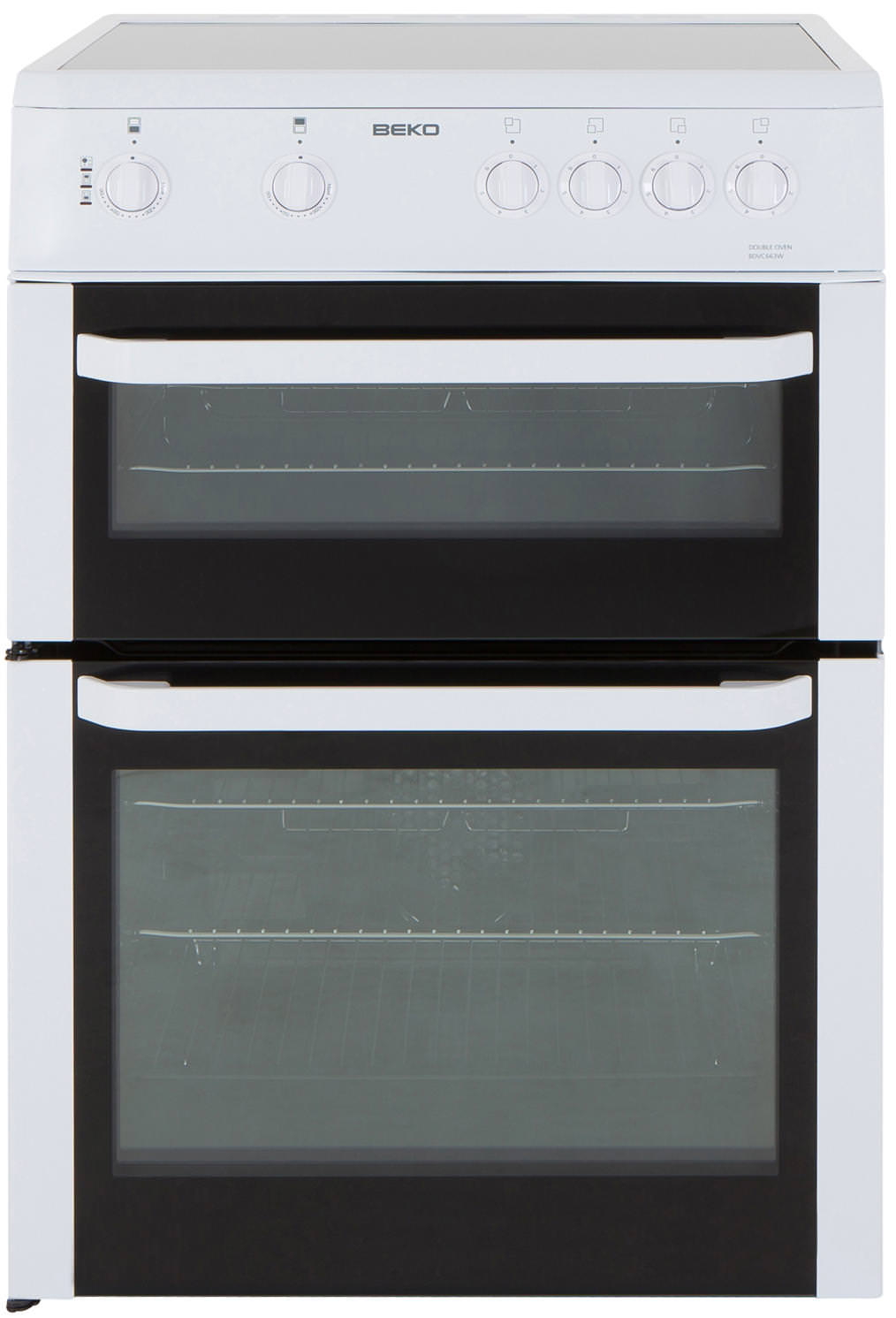 Image of BDVC663W 60cm Electric Double Oven Cooker