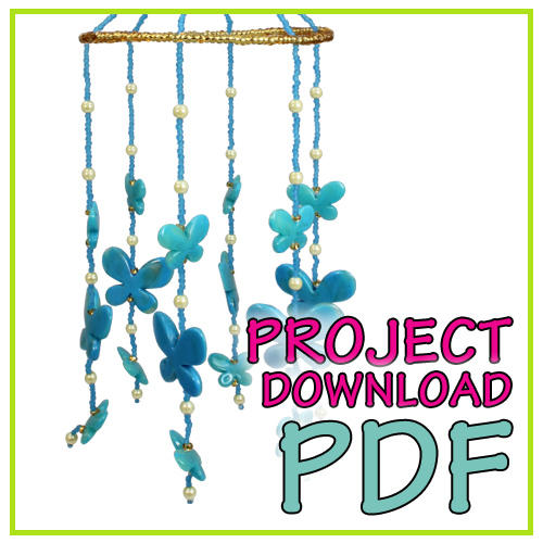 Butterfly Chime - Instructions Download