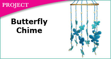 butterfly chime project